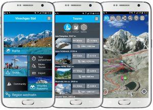 3D Outdoor Guides App