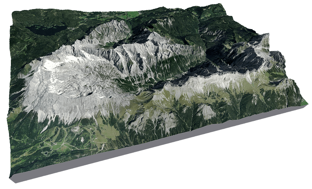 3D Druck Zugspitze