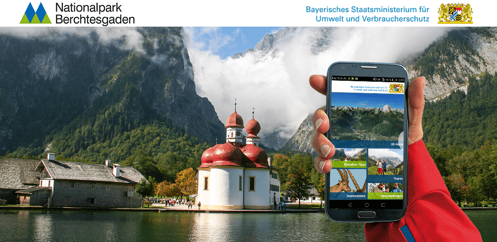 3D App Nationalpark Berchtesgaden