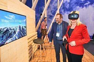 ITB 2018 – Virtuell über den Watzmann klettern