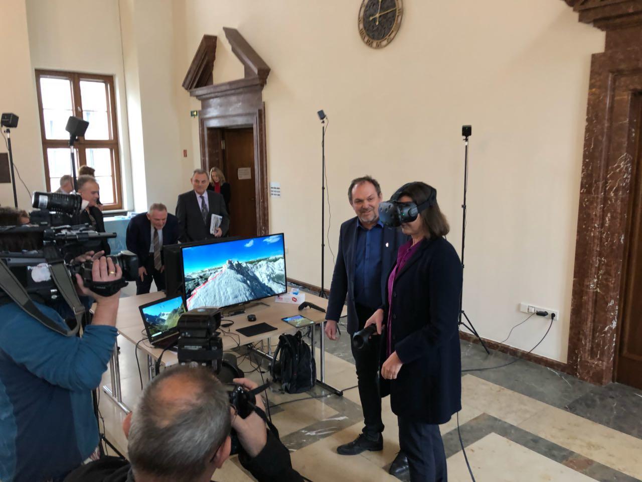 3D RealityMaps bei der Jahrespressekonferenz Tourismus