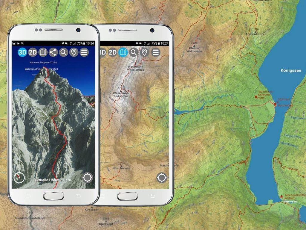 Topokarte 3D Outdoor Guides App