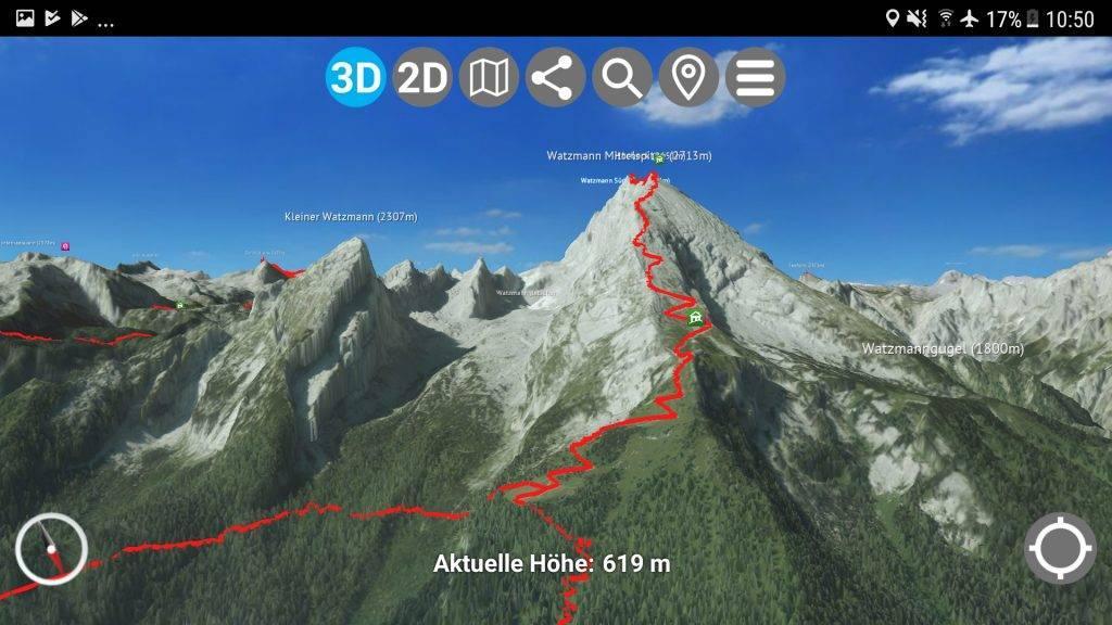 3D App Watzmann