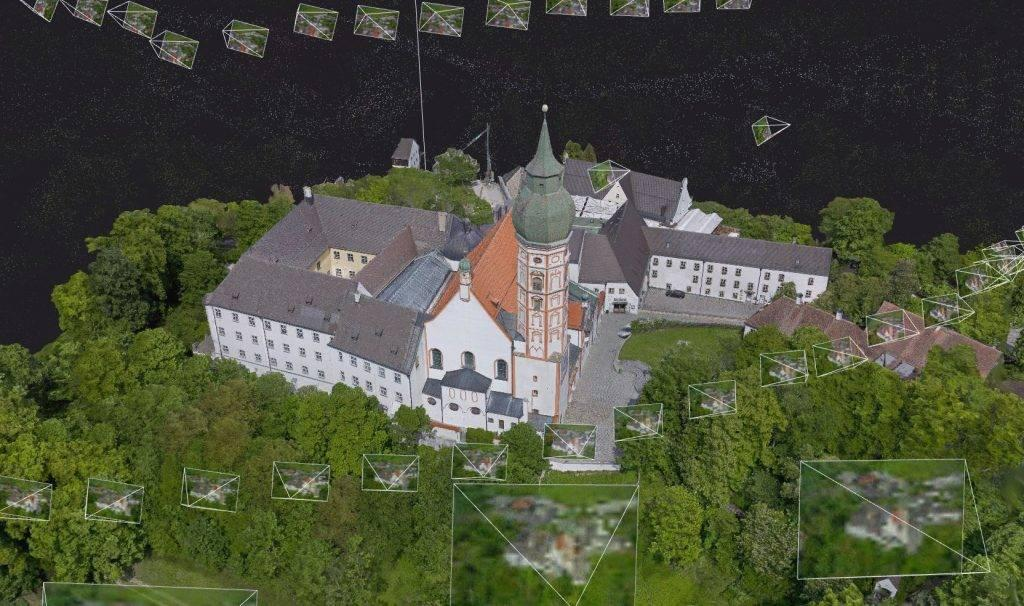 3D Modell Andechs
