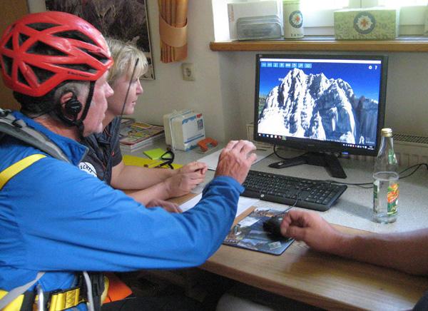 3D Karten Bergwacht