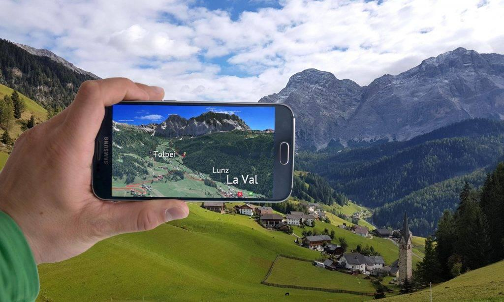 3D Outdoor Guides App