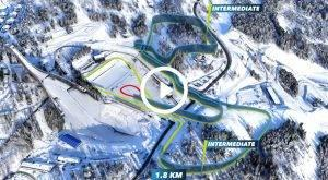 3D-Animation von Biathlonstrecken