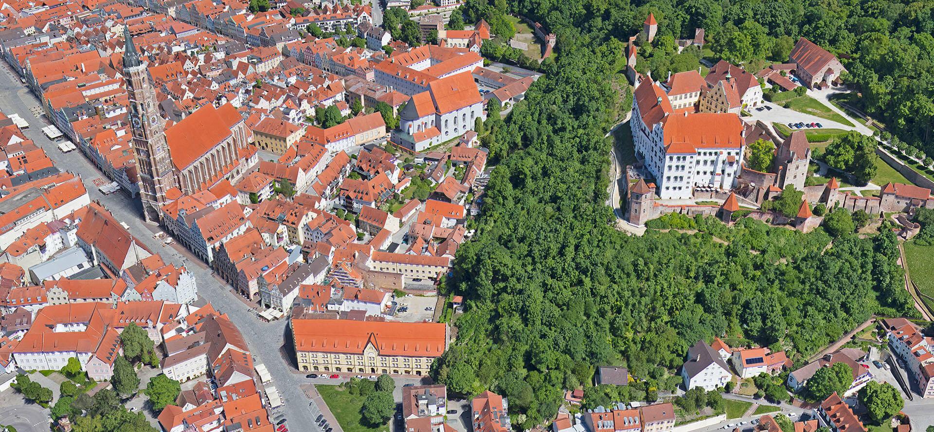 3D Stadtmodell Landshut
