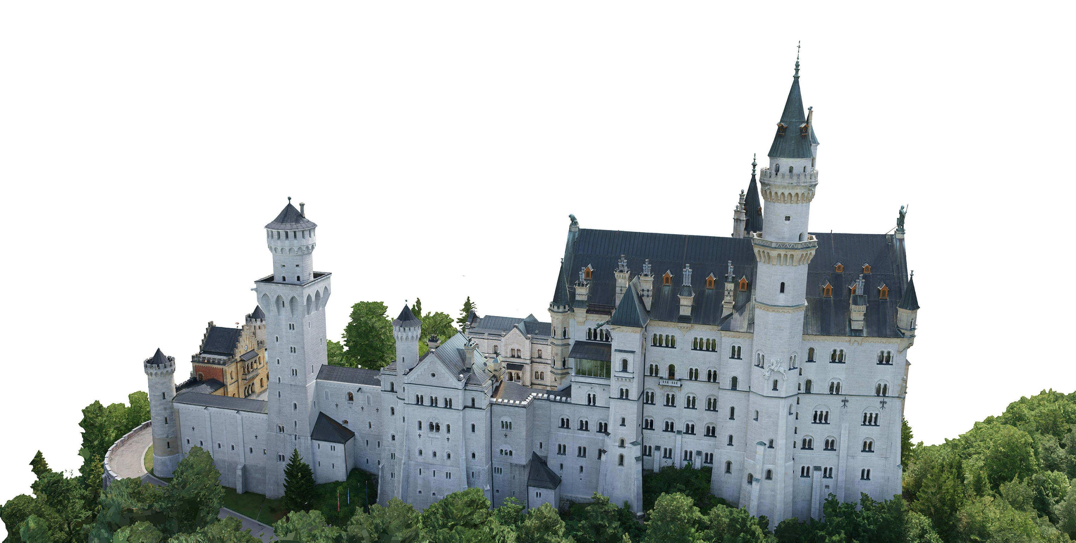 Neuschwanstein 3D Modell
