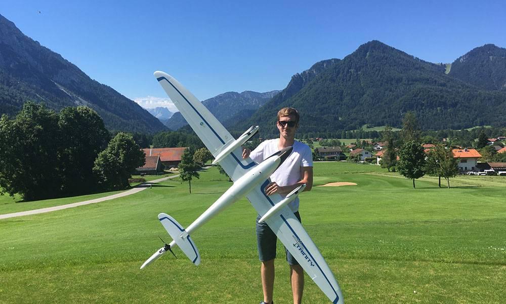 Befliegung des Golfclubs Ruhpolding