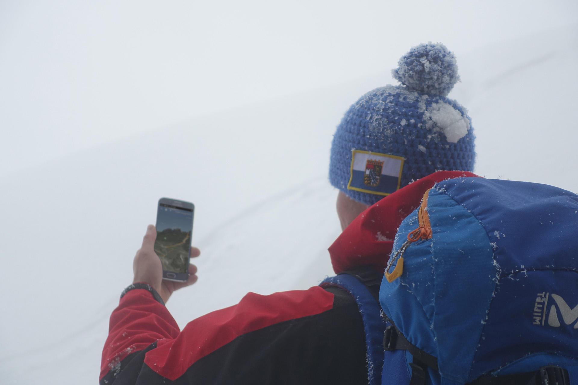 3D App im Nebel