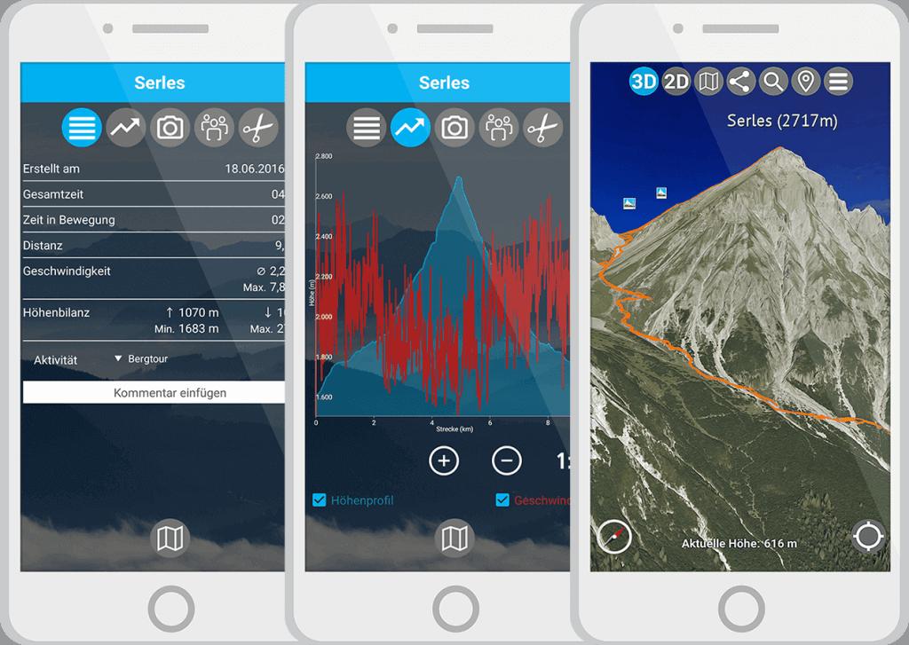 Leistung aufzeichnen mit der App von 3D RealityMaps