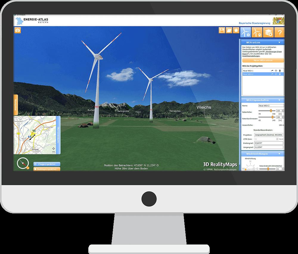 3D Windanalyse