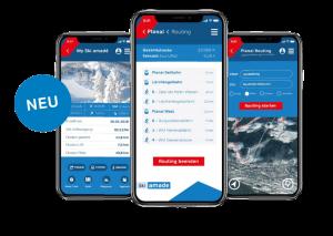 Neue App Ski amadé Guide