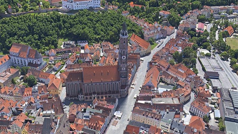 Neues Stadtmodell von Landshut