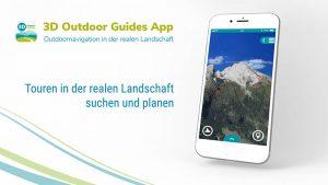 3D Outdoor Guides App in neuem Design