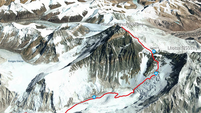Mount Everest in 3D