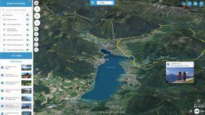 Interaktive Karte zum eBiken am Tegernsee