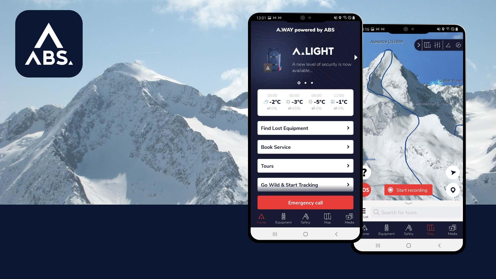 Neue App ABS A.WAY